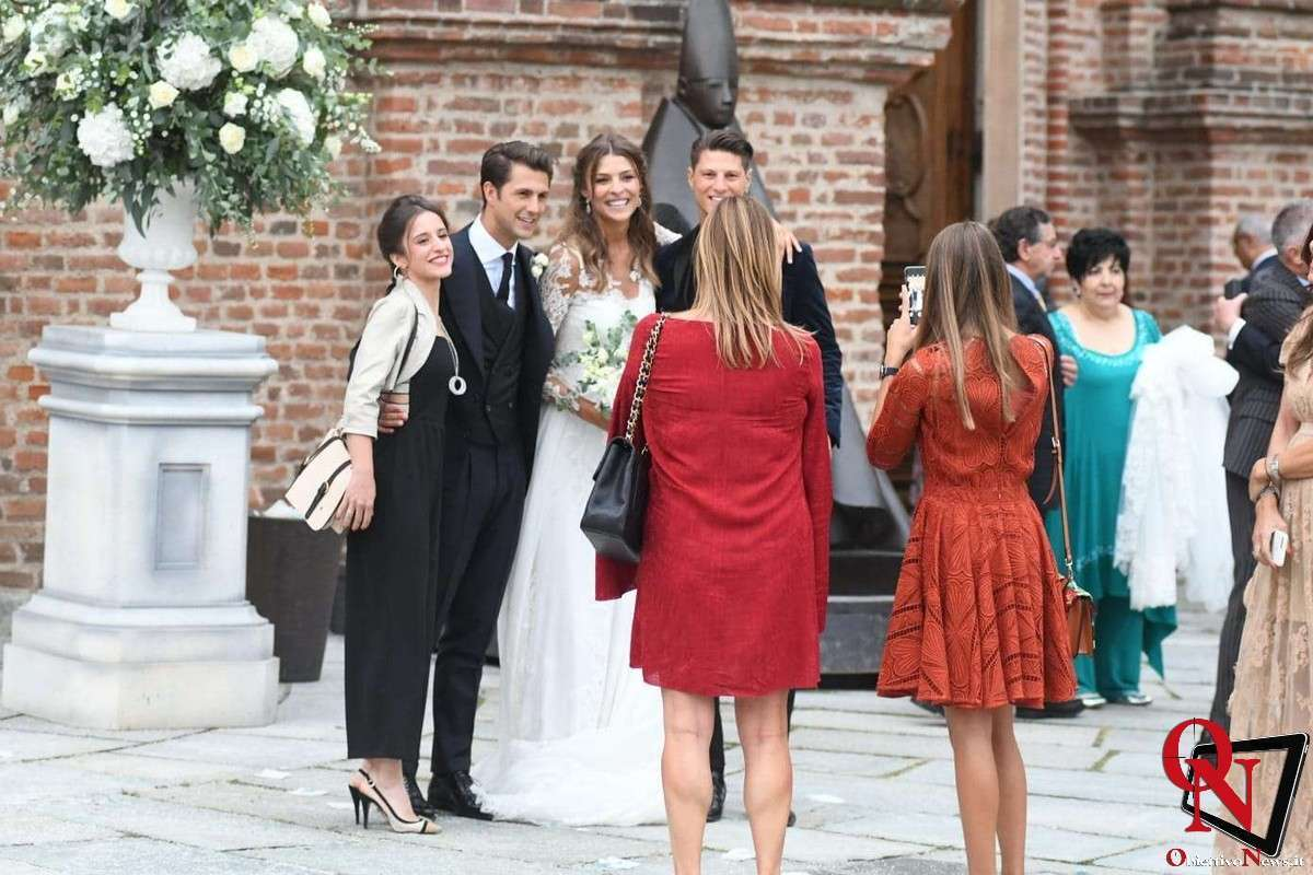 Le nozze di Cristina Chiabotto e Marco Roscio