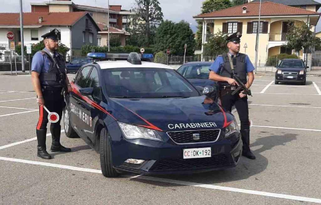 carabinieri radiomobile Ivrea