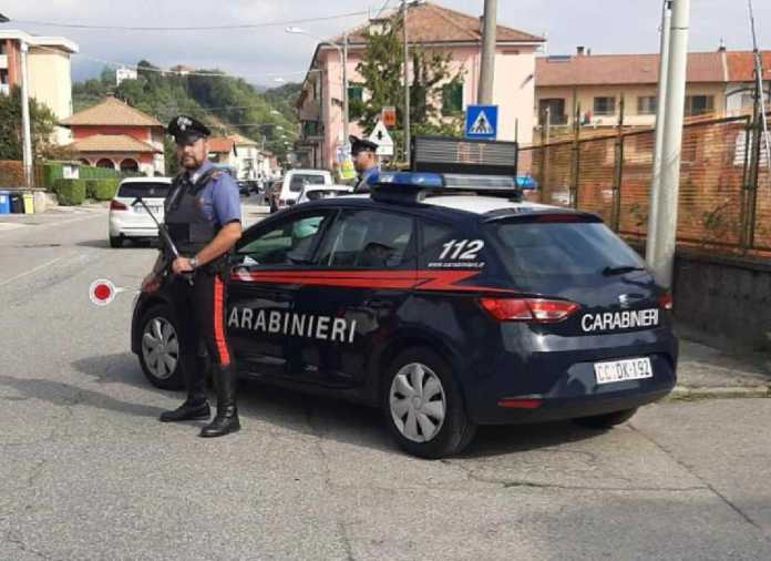 carabinieri radiomobile Ivrea a Castellamonte