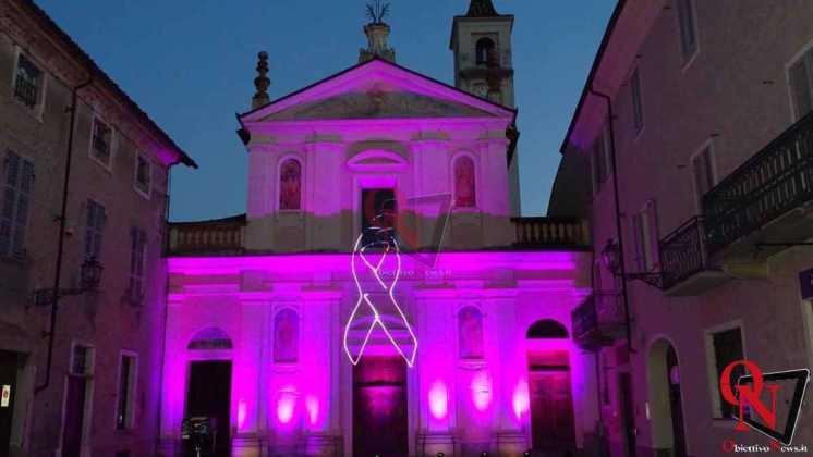 Rivarolo Canavese Chiesa di San Rocco Rosa per la Lilt 16
