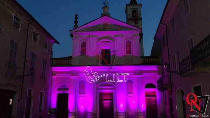 Rivarolo Canavese Chiesa di San Rocco Rosa per la Lilt 17