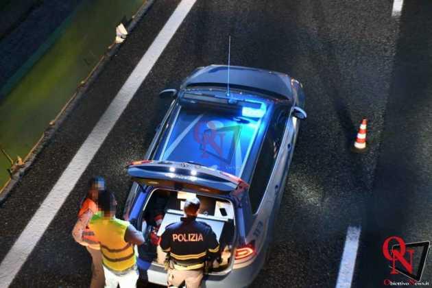Venaria Reale Borgaro incidente tangenziale 10