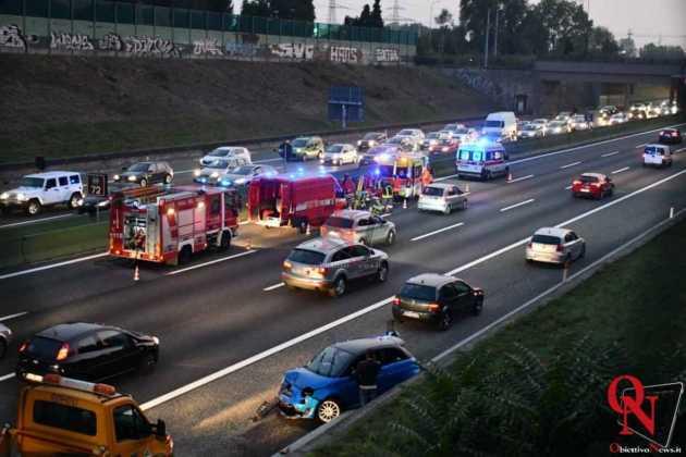 Venaria Reale Borgaro incidente tangenziale 11