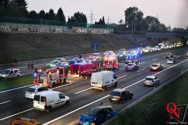Venaria Reale Borgaro incidente tangenziale 4
