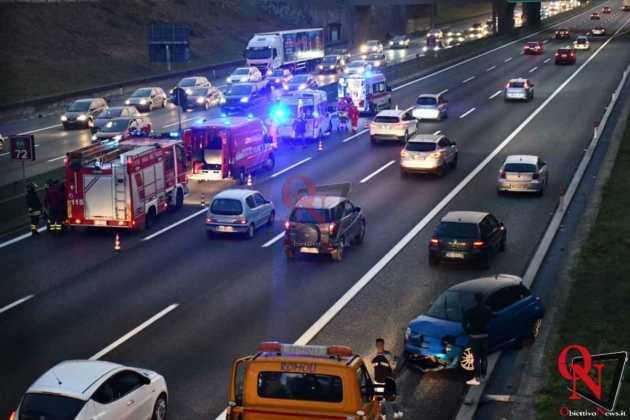 Venaria Reale Borgaro incidente tangenziale 6