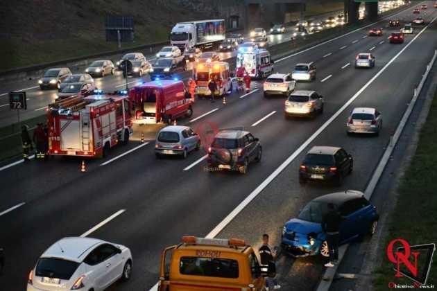 Venaria Reale Borgaro incidente tangenziale 9