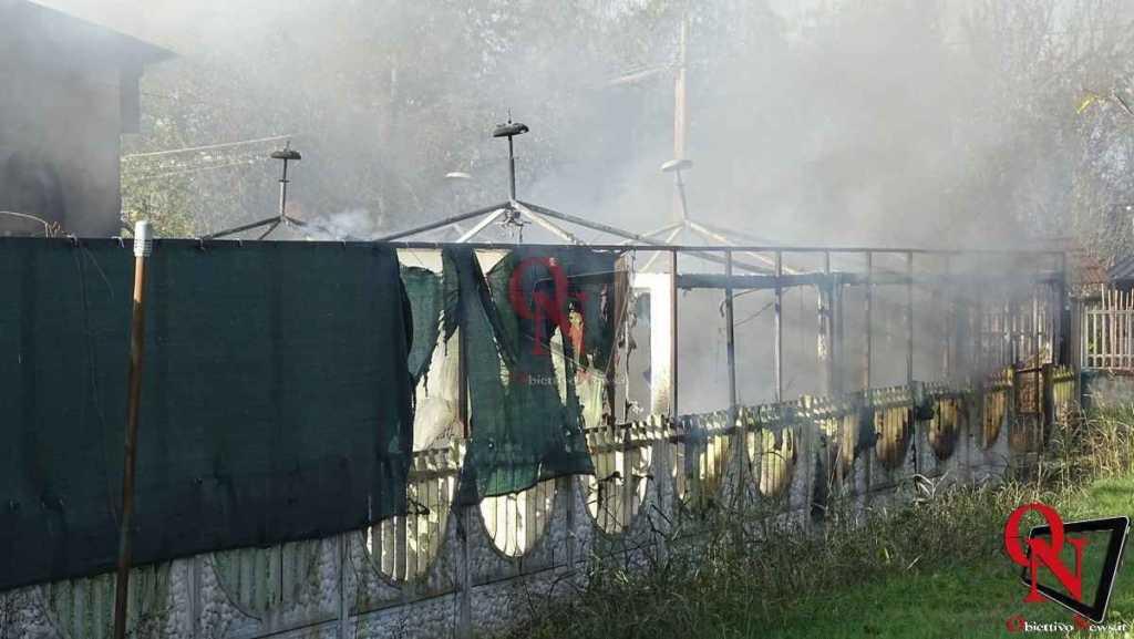 Feletto Incendio sede calciobalilla 5