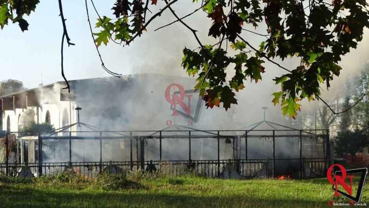 Feletto Incendio sede calciobalilla 9
