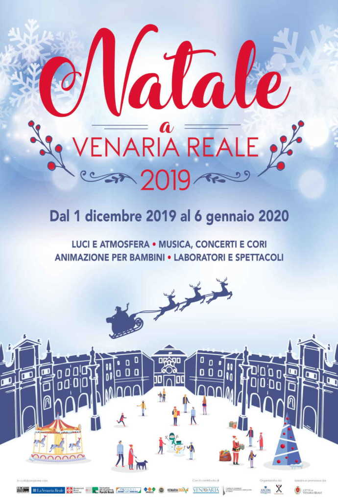 Venaria Natale 2019 Locandina