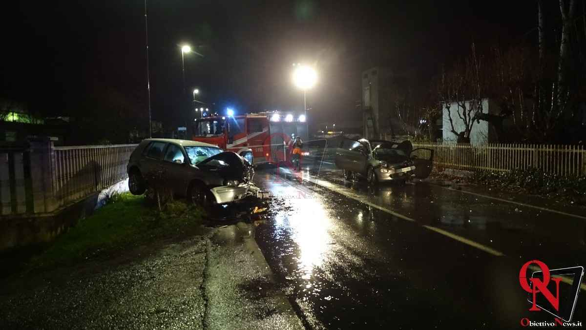 Busano incidente via Perino 12