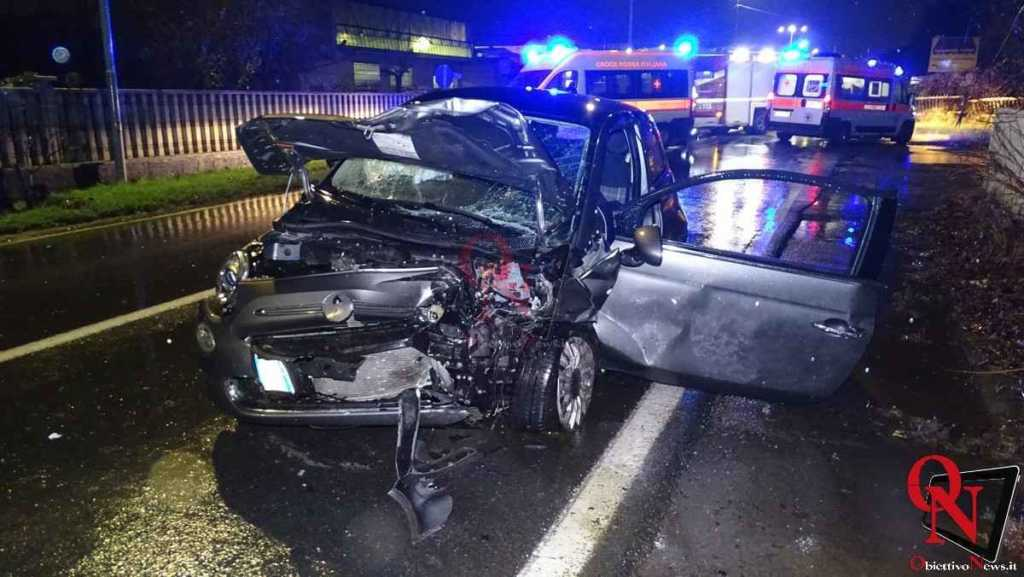 Busano incidente via Perino 3