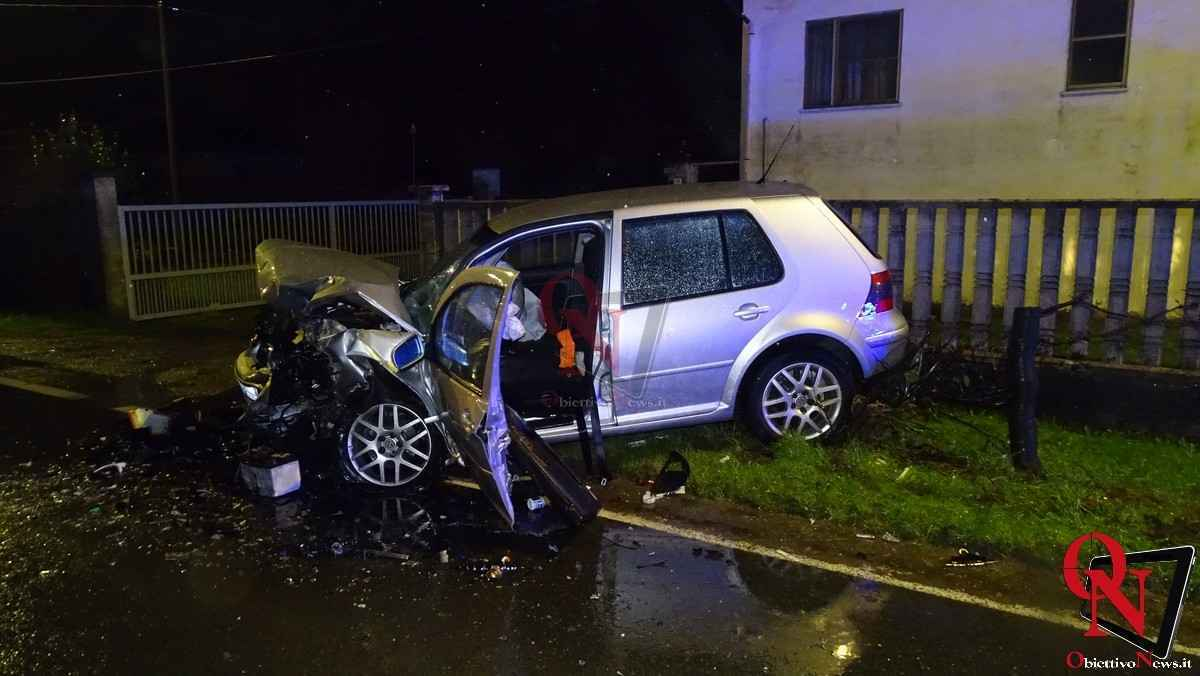 Busano incidente via Perino 5