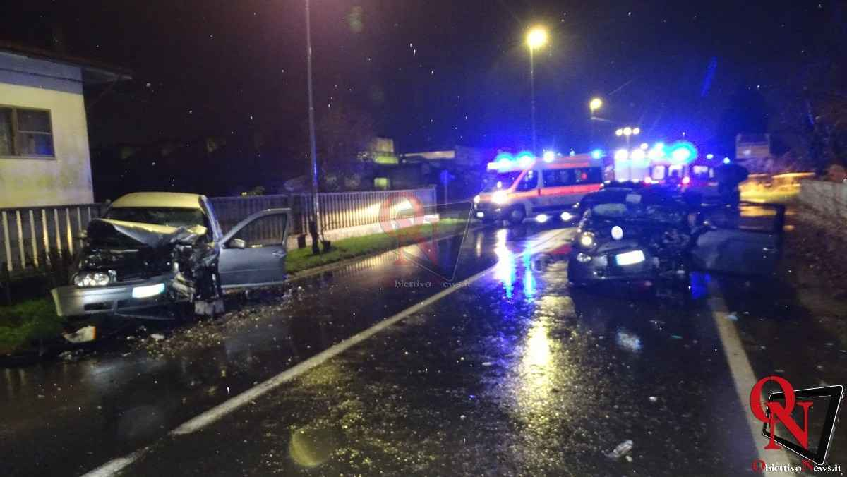 Busano incidente via Perino 6
