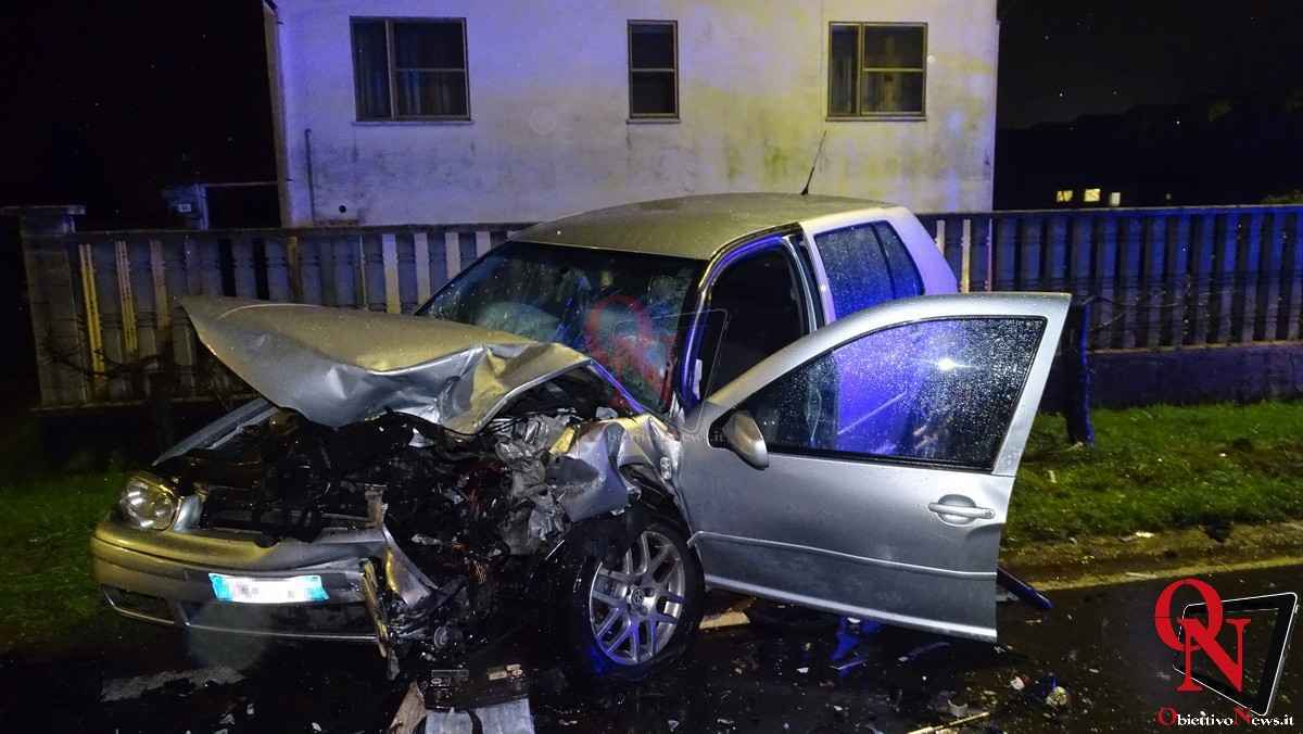 Busano incidente via Perino 7
