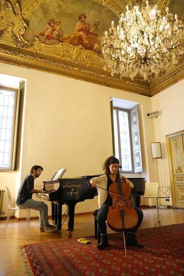 palazzo cisterna musica Res