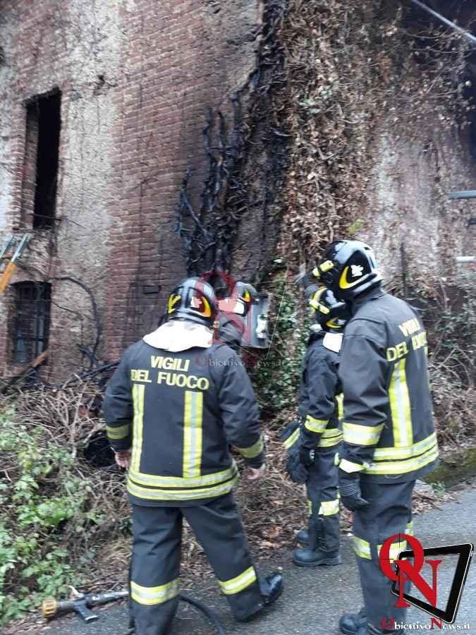Castellamonte Incendio Cascina 1