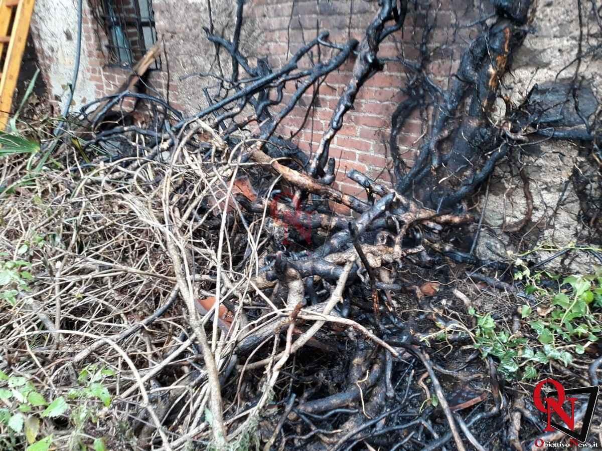 Castellamonte Incendio Cascina 3