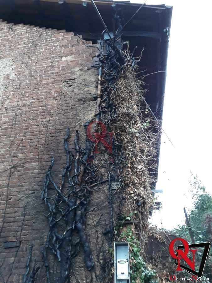 Castellamonte Incendio Cascina 5