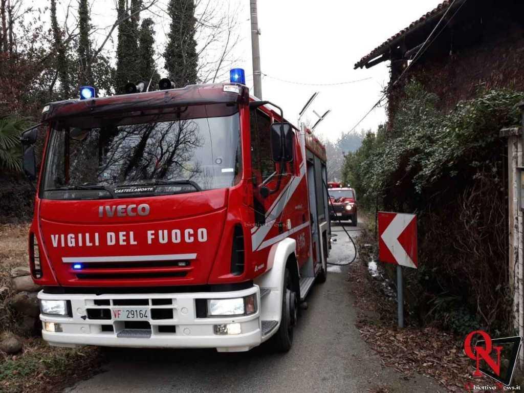 Castellamonte Incendio Cascina 6