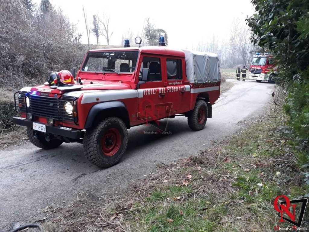 Castellamonte Incendio Cascina 8
