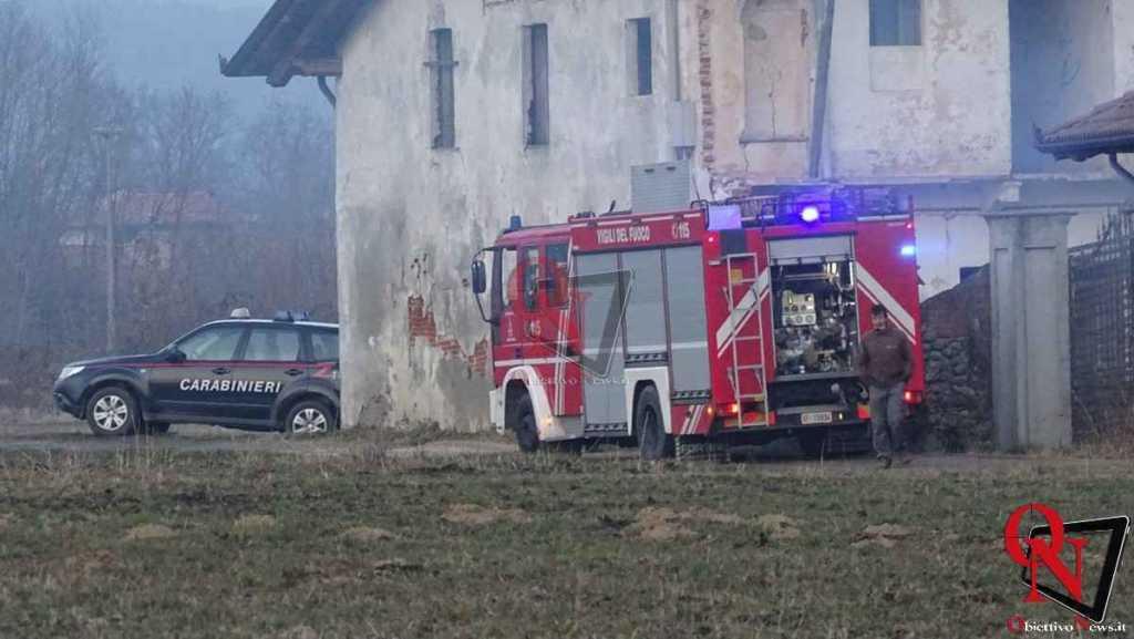 Castellamonte Principio incendio localita case Nigra 1