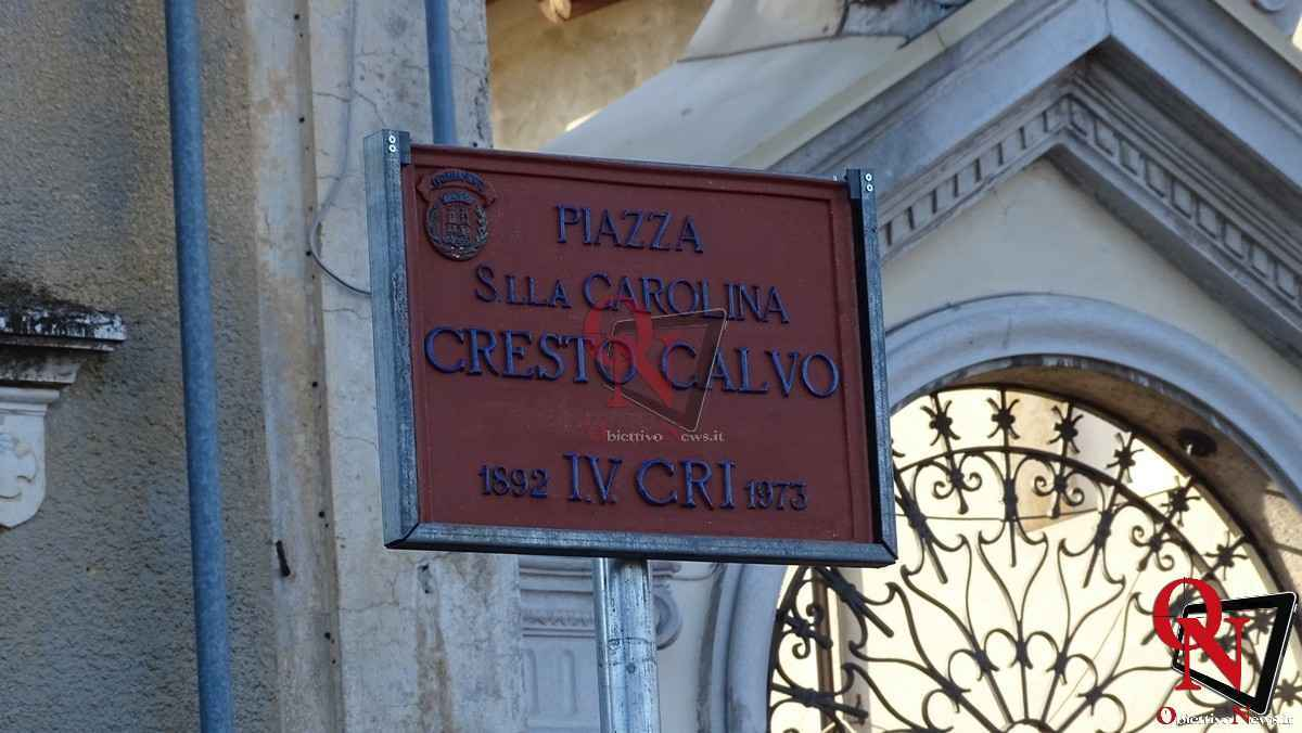 Castellamonte intitolazione Piazza a Carolina Cresto Calvo 33