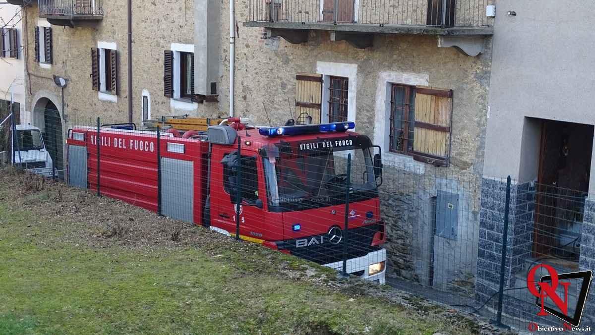 Forno Canavese Incendio tetto 17