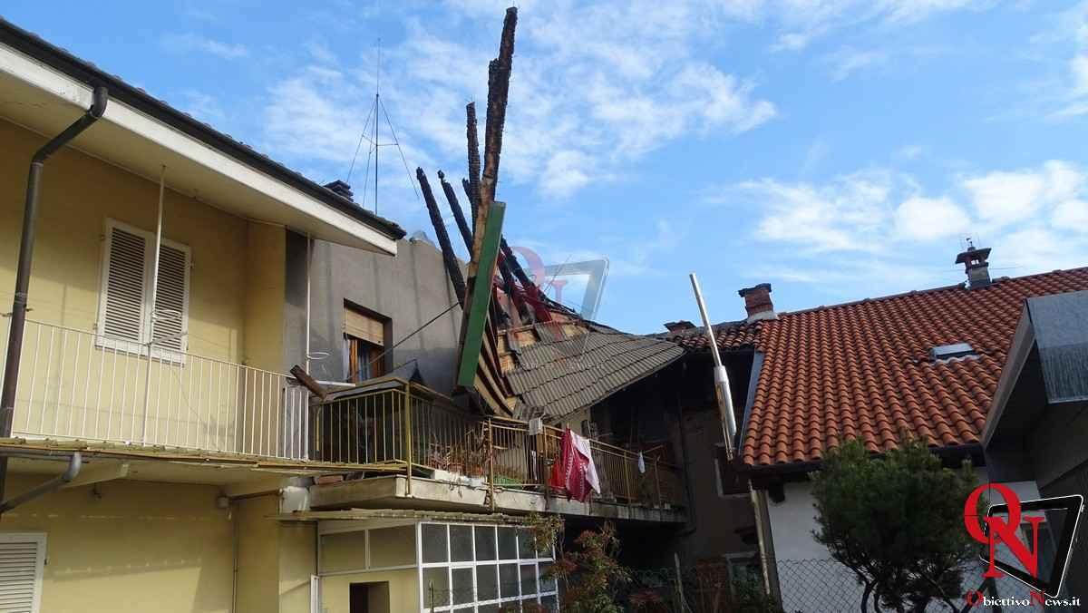 Forno Canavese Incendio tetto 19
