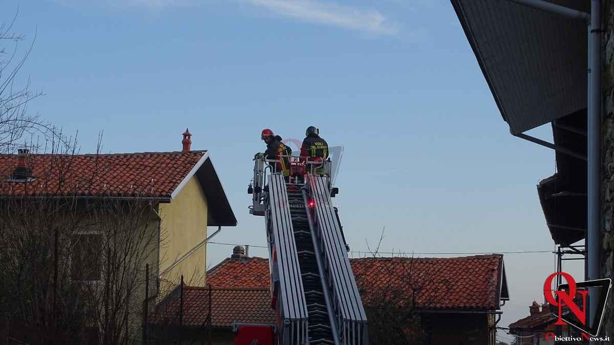 Forno Canavese Incendio tetto 21