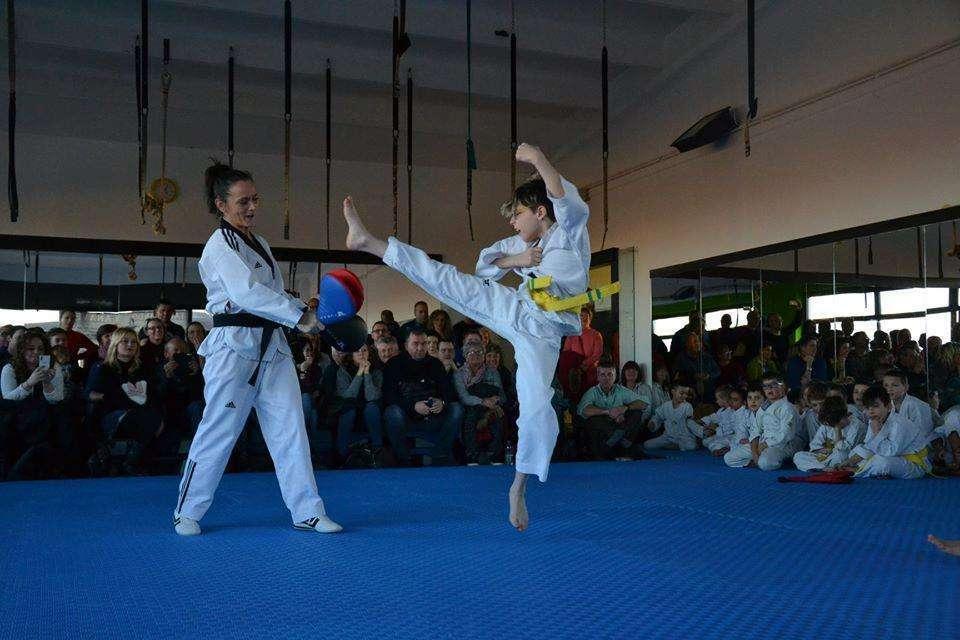 Taekwondo Rivarolo passaggio cintura 10