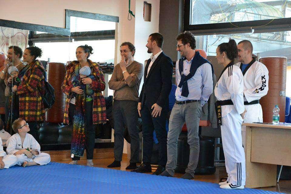 Taekwondo Rivarolo passaggio cintura 2