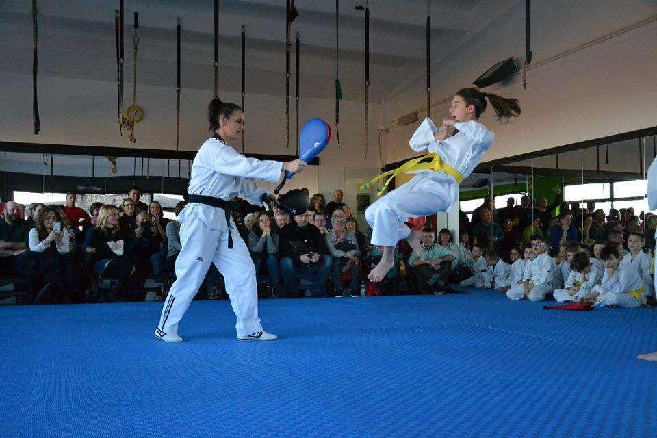 Taekwondo Rivarolo passaggio cintura 3
