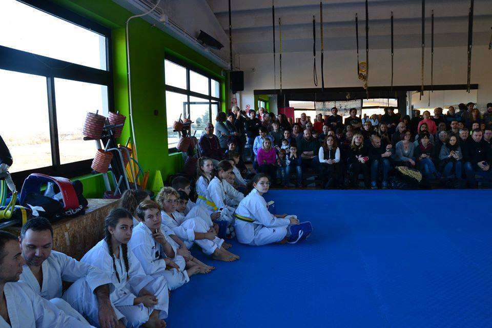 Taekwondo Rivarolo passaggio cintura 4