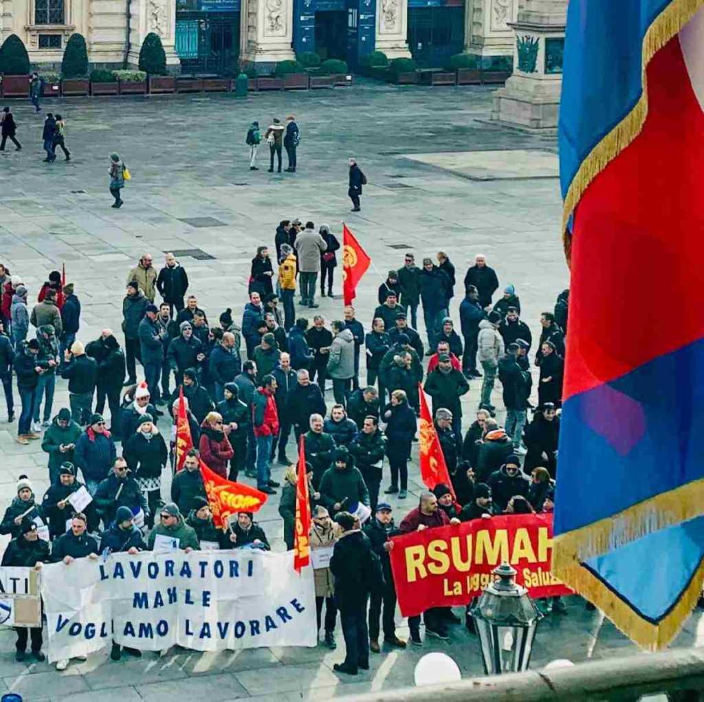 Torino lavoratori Mahle in regione 2