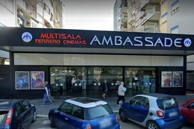Ambassade cinema Roma google map