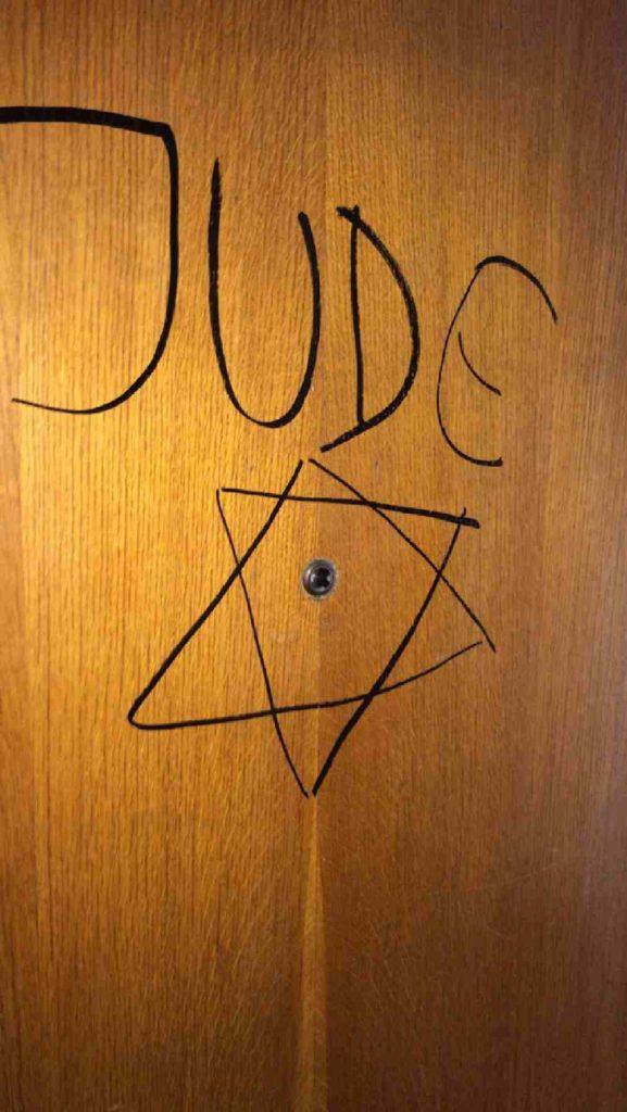 torino scritta antisemita Segre