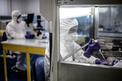 virus laboratorio francese afp