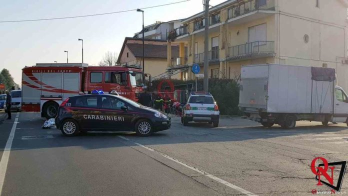 Leini Incidente mortale Via Torino