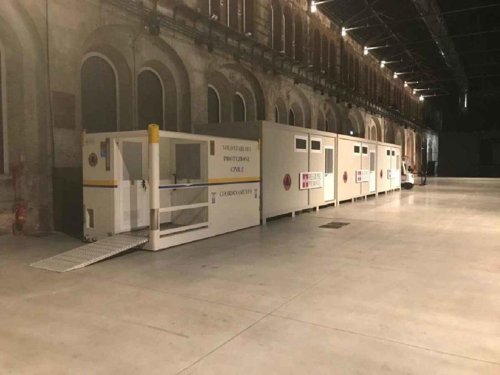 Torino protezione civile covid 3