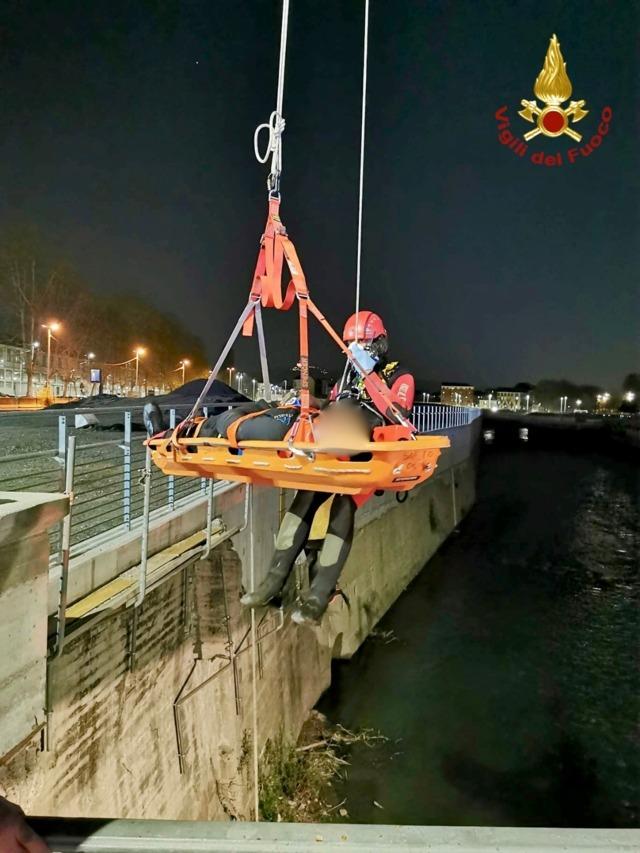 torino precipita dal ponte 34 Res