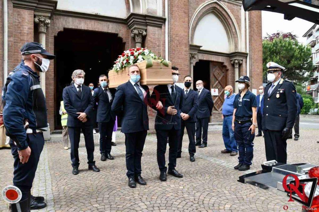 25 05 2020 Venaria Reale funerali cainero 2