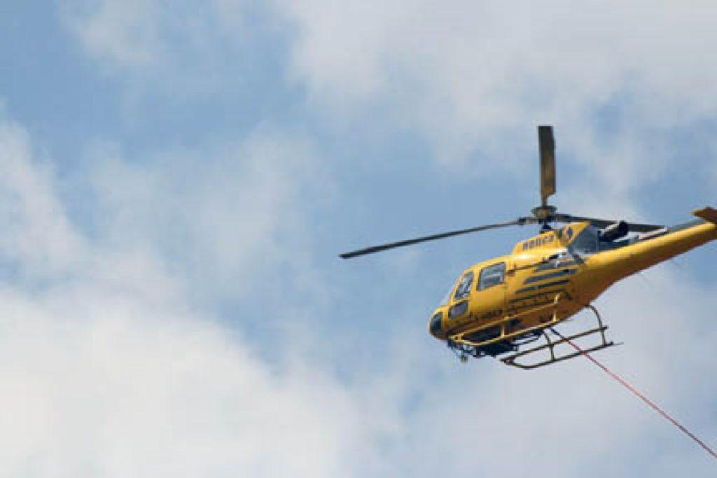 elicottero monitoraggio