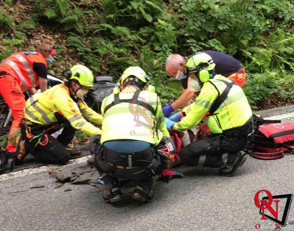Alpette Incidente Moto1