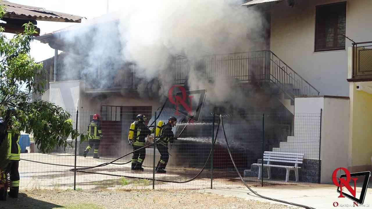 Oglianico Benne Incendio Garage 1