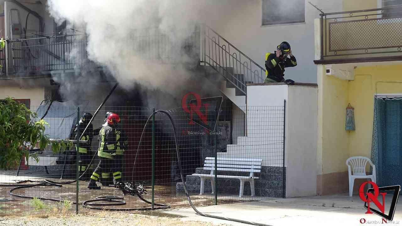Oglianico Benne Incendio Garage 10