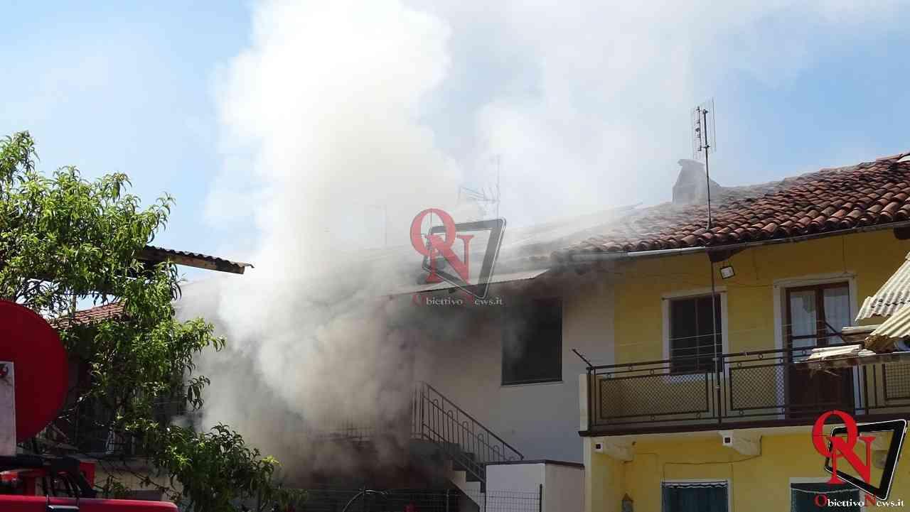 Oglianico Benne Incendio Garage 12