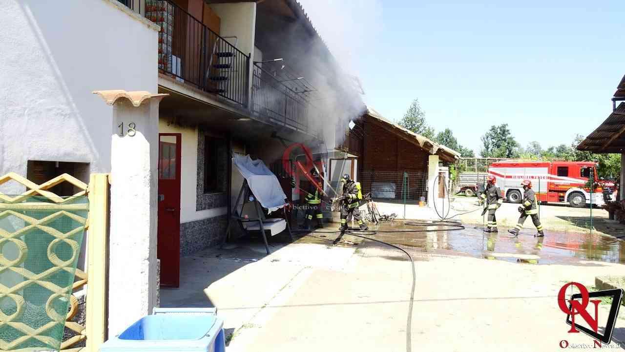 Oglianico Benne Incendio Garage 13