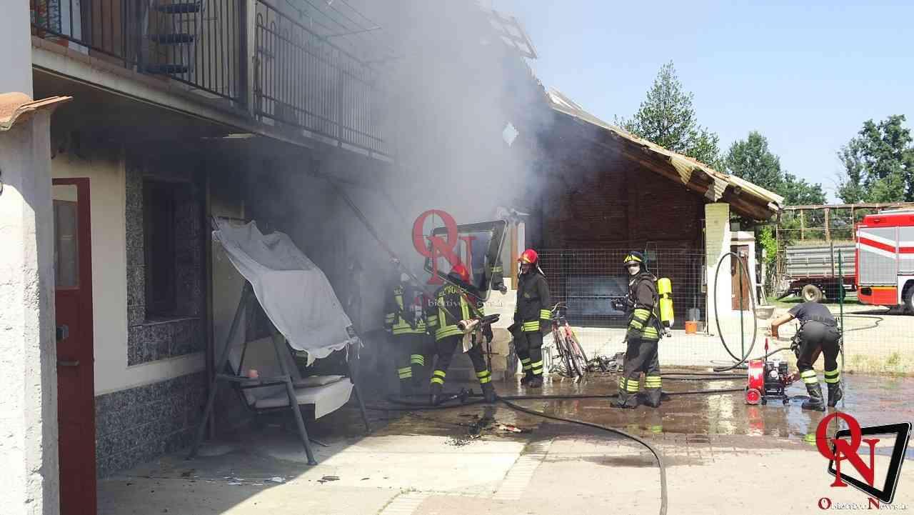 Oglianico Benne Incendio Garage 15