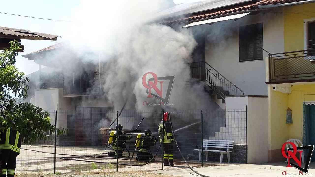 Oglianico Benne Incendio Garage 3