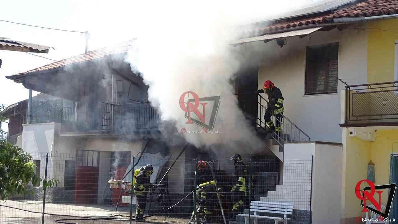 Oglianico Benne Incendio Garage 4